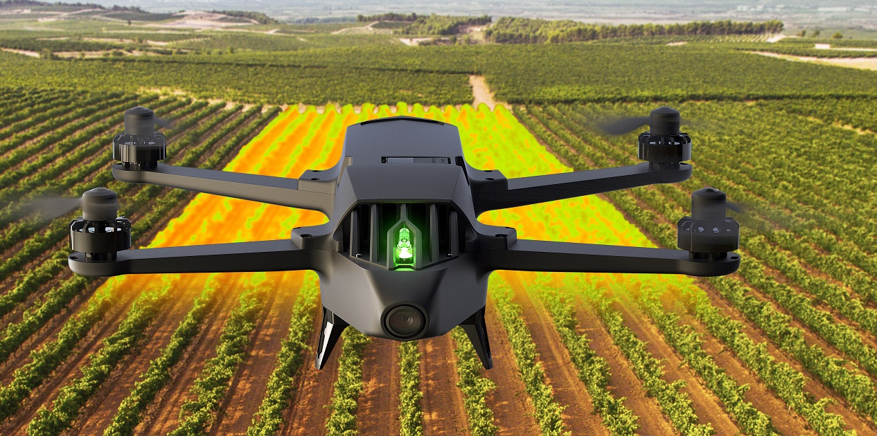 Photo of Parrot Bluegrass: un drone per aiutare l'ambiente
